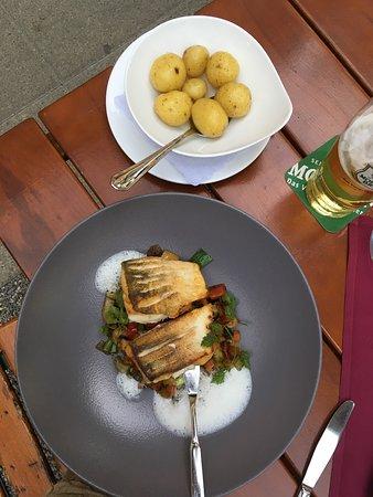 Dornbirn, Österreich: Mooi verzorgd eten