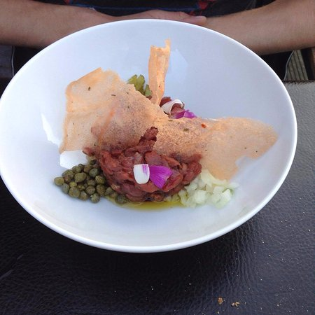 Grobbendonk, เบลเยียม: steak tartaar