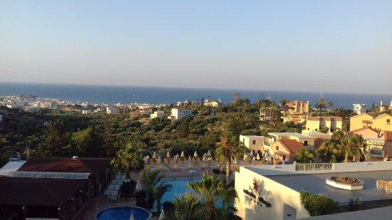 Asterias Village Resort : View from the Oliva restaurant
