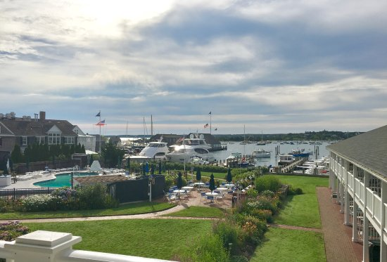 Harborside Inn: Taken from our deck.