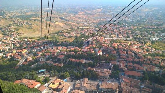 Borgo Maggiore, San Marino: Great view