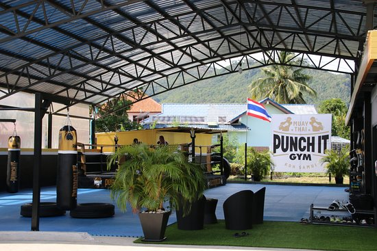 Punch it Gym Muay Thai Koh Samui