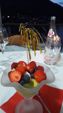 Hotel Ristorante G.L.A.V.J.C.: Salade de fruits