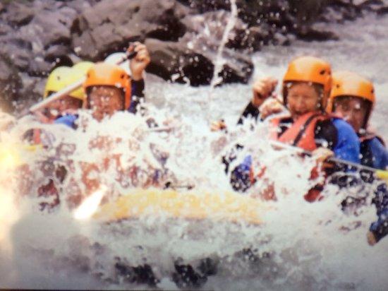 Samoens, Francia: Rafting !!! It's Fab !!