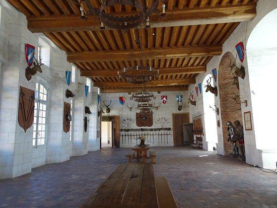 Saint-Fargeau, França: salle des gardes