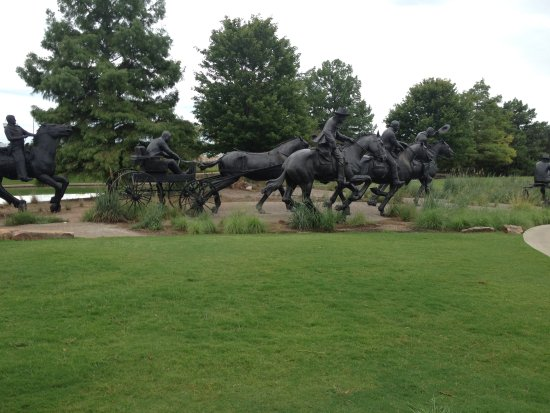 Centennial Land Run Monument : There's more, of course. This is a sample of what you can see there.