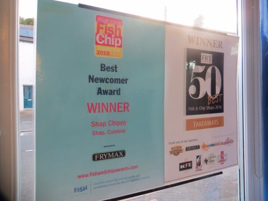 Shap Chippy: The awards - and the standard is still very high!