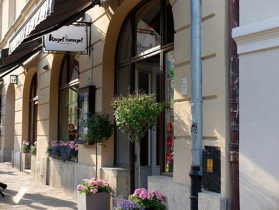Kogel Mogel Restaurant: Esterno ristorante