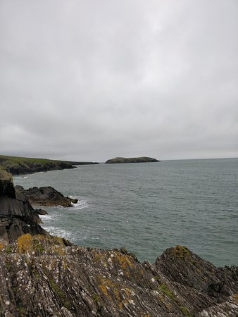Ferwig, UK: Views from the cliff tops