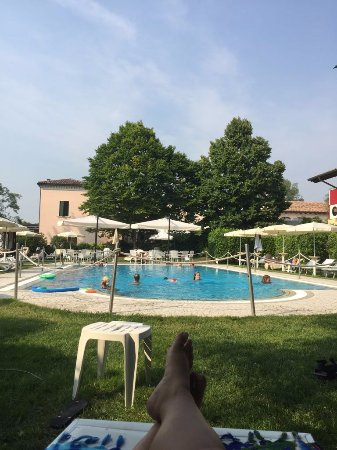 Quarto D'Altino, Italia: Piscina.