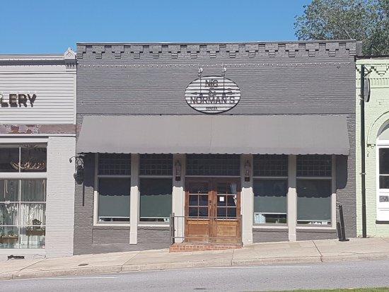 Senoia, GA: Fachada do restaurante Nic&Norman´s
