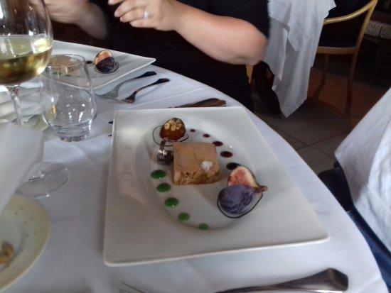 Restaurant La Marquiere: foie gras aux figues fraiche