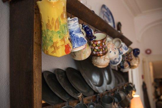 Newport -Trefdraeth, UK: Welsh cupboard in the hall