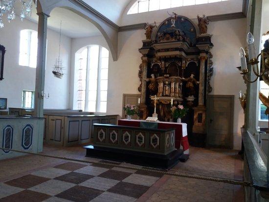 Ostseebad Prerow, Duitsland: Besuch der Seemannskirche in Prerow.