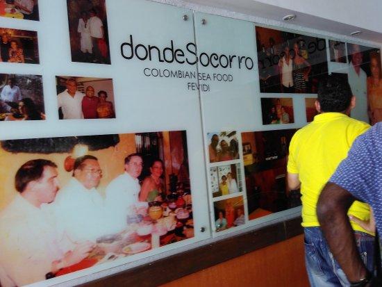 Restaurante Bar Donde Socorro Sea Food: Entry to donde socorro