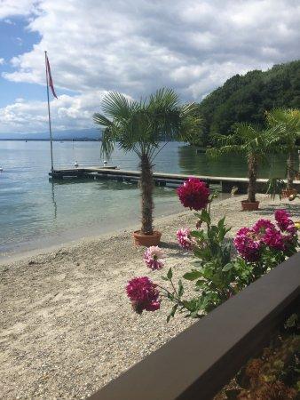 Rolle, Schweiz: la plage