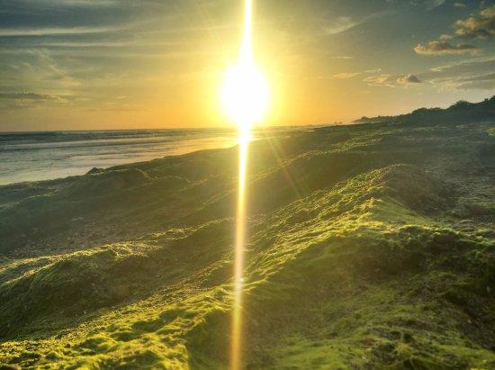 Tola, Nicaragua: Sunset on Playa Santana