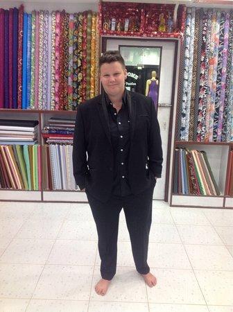 Nong Thale, Thailand: Pooja Tailor