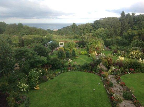 Fylingthorpe, UK: View from Garden Room
