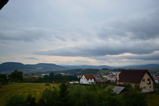 Toplita, Romania: View from the balcony