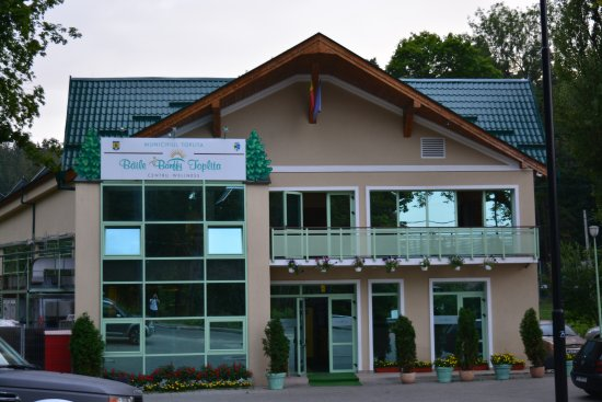 Toplita, Romania: The SPA next to the pension