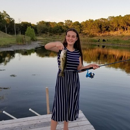 Wimberley, TX: We loved our stay & will definitely return to Pura Vida. We caught and released several perch &