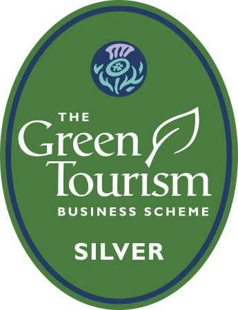 St. John's Town of Dalry, UK: Brookford has been awarded the Silver Award by the Green Tourism Business Scheme.