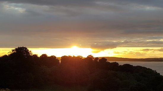 Oldcastle, Ierland: Incredible sunset over Lough Sheelin