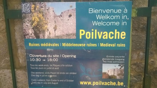 Houx, Bélgica: www.poilvache.be