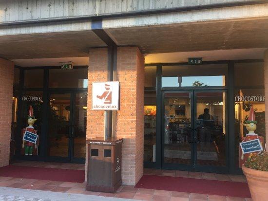 Etruscan Chocohotel: Ingresso Hotel