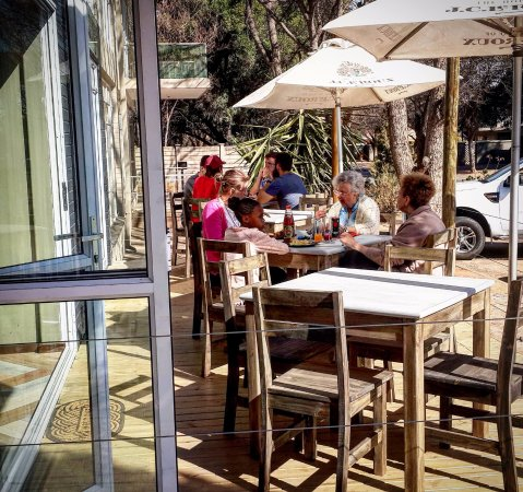 Klerksdorp, Sudáfrica: Our Lovely deck