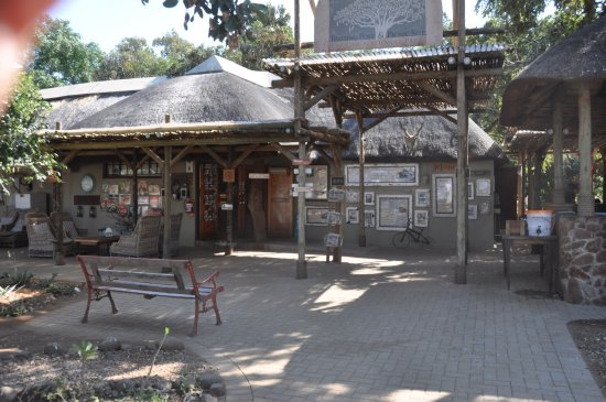 Krüger-Nationalpark, Südafrika: Store and restaurant
