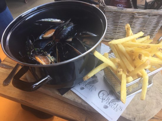 Nottinghamshire, UK: Moules-frites
