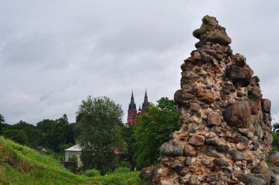 Rezekne, Letonia: Развалины замка