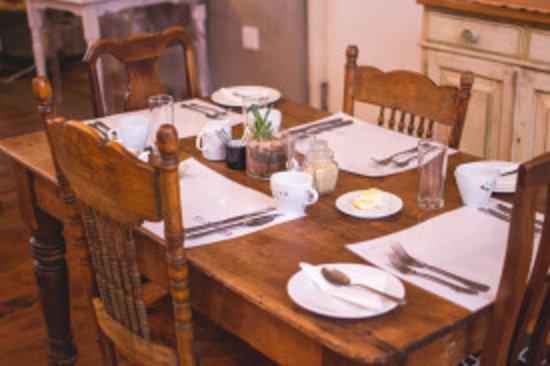 Greyton, South Africa: Breakfast