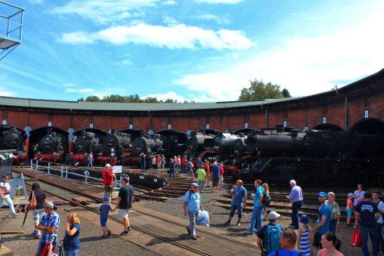 Sachsisches Eisenbahnmuseum Chemnitz-Hilbersdorf
