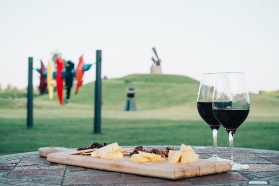 St. Catharines, Canada: Explore our sculpture gardens while enjoying a glass of wine