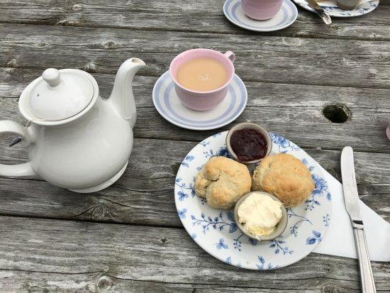 Zennor, UK: cream tea