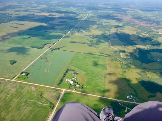 Drayton Valley, Canada: Air Adventure from the air.
