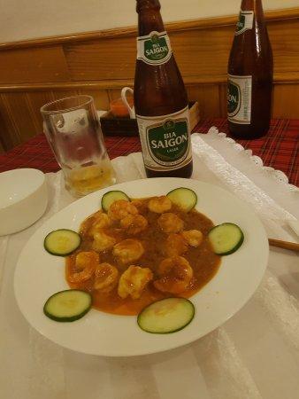 Da Quy Restaurant : Bonnes petites crevettes