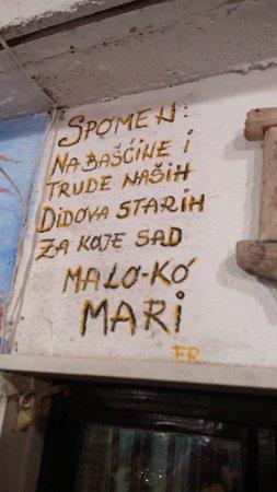 Zrnovo, Croacia: Konoba Belin