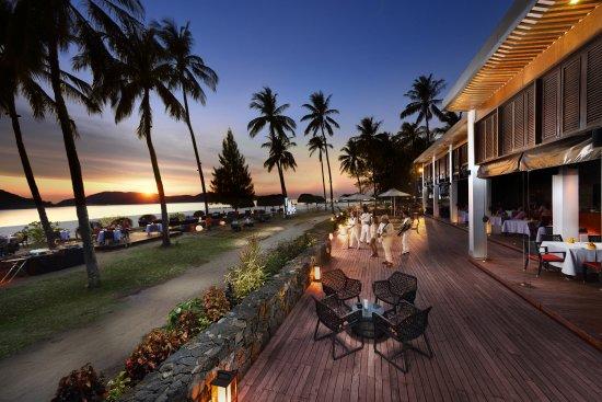 Beach Bar At The Meritus Pelangi Hotel