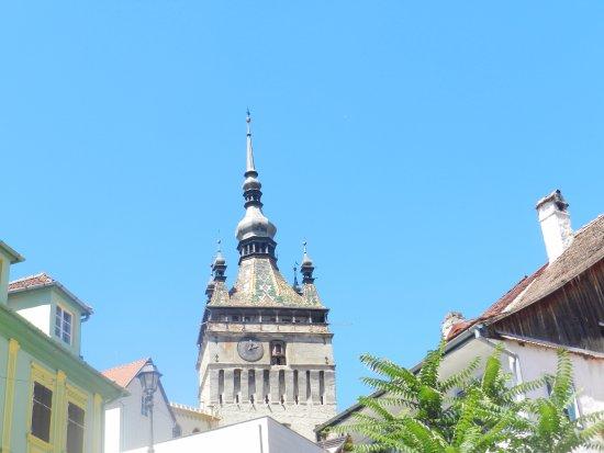 Torre del Reloj: La parte alta della torre