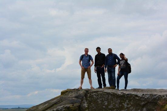 Calver, UK: Group Pic