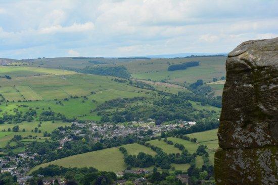 Calver, UK: Cliff View