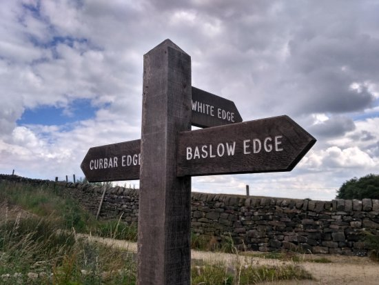 Calver, UK: Way to different Edges