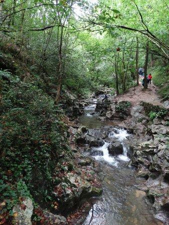 Zugarramurdi, Spanyol: wandeling rond de grotten