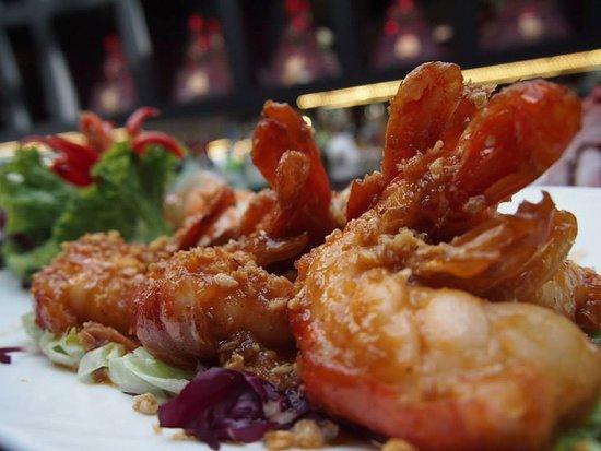 Thai Square - City Minories : Garlic prawns