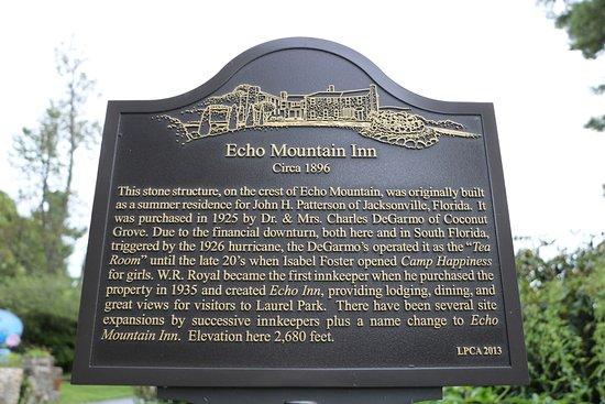 Foto de Echo Mountain Inn
