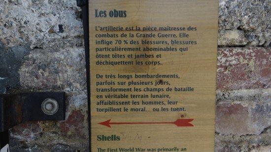 Albert, Francia: Les textes sont courts, percutants, sans approximations et traduits en 3 langues (E, D, NL)